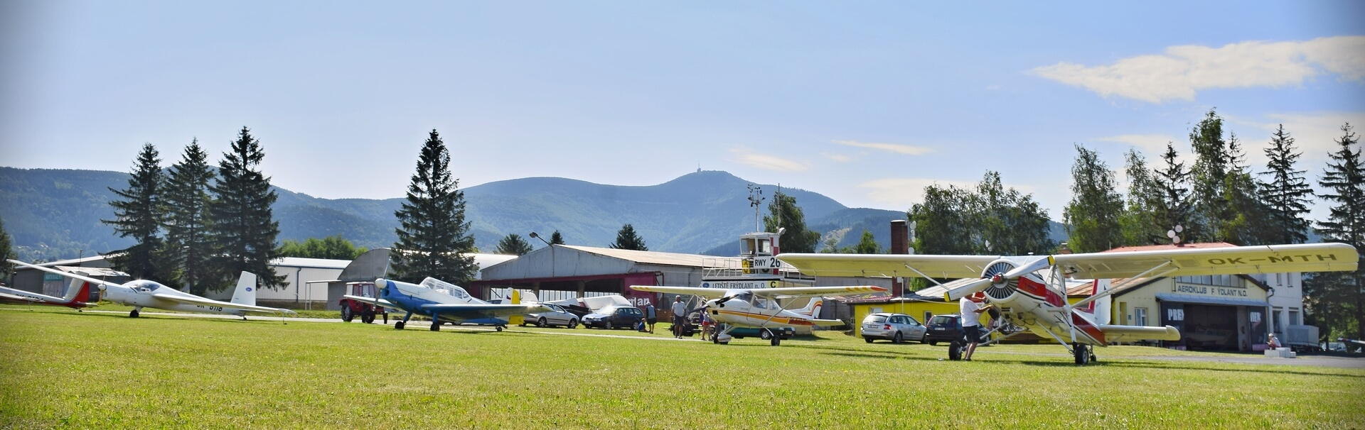 Seznamovac lety - Aeroklub Frdlant nad Ostravic